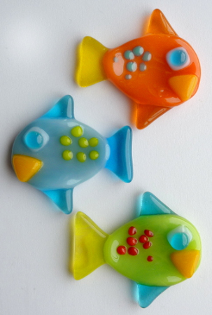 fish fridge magnet